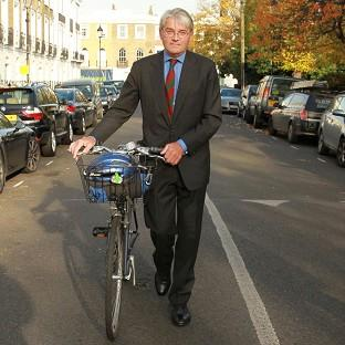 Halstead Gazette: Former Tory chief whip Andrew Mitchell outside his north London home