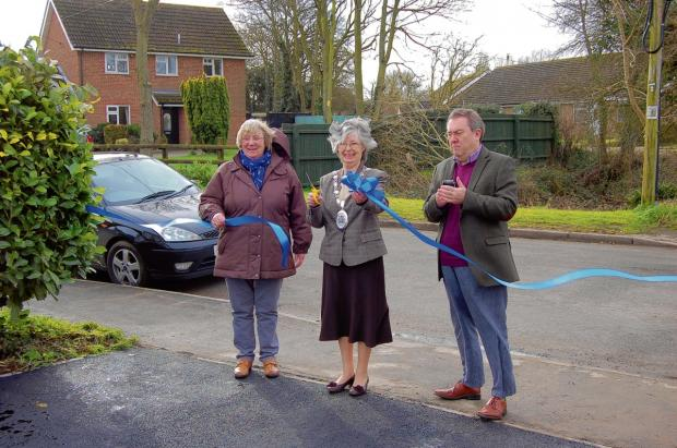 Five year village hall revamp all over as car park is opened