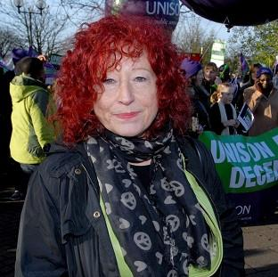 "Halstead Gazette: Heather Wakefield of Unison says employers' attitude to council workers has ""reached an all-time low"""