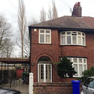 Halstead Gazette: A house linked to student Abu Layth in Didsbury, Manchester, which was searched by police