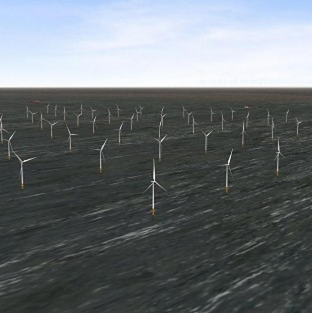 Halstead Gazette: London Array's wind farm is the biggest of its kind in the world (PA/London Array)