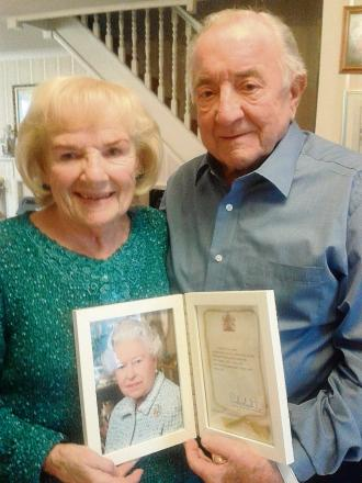 Cheeky wolf-whistle led to 70-year marriage