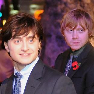 Rupert Grint was named the London newcomer of the year - an award Daniel