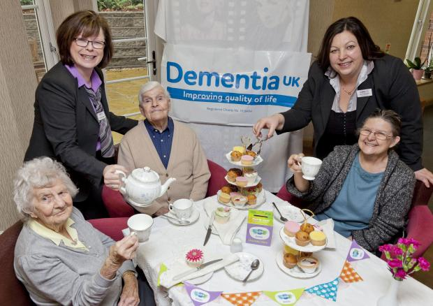 Make time for a cuppa and raise money for Dementia UK