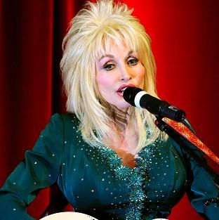 Country music star Dolly Part