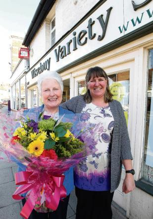 'Wonderful employee' Jan retires from High Street shop