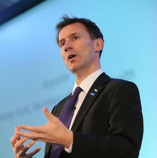 Health Secretary Jeremy Hunt claims care failures in Wales are increasing pressure on casualty departments in England