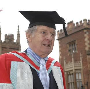 "Halstead Gazette: Actor James ""Jimmy"" Ellis, who has died aged 82,  received an honorary degree from Queen's University in Belfast"