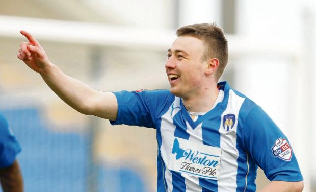 In-form Sears scores four as Colchester thrash Leiston