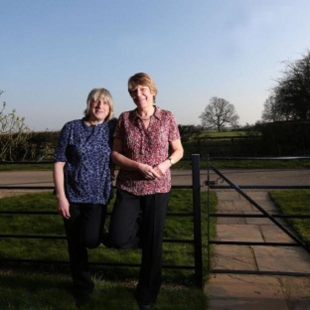 Halstead Gazette: Celia Kitzinger (left) and Sue Wilkinson (right) who lost a legal fight to marry eight years ago will become the first same-sex couple in the UK to have their union legally recognised.
