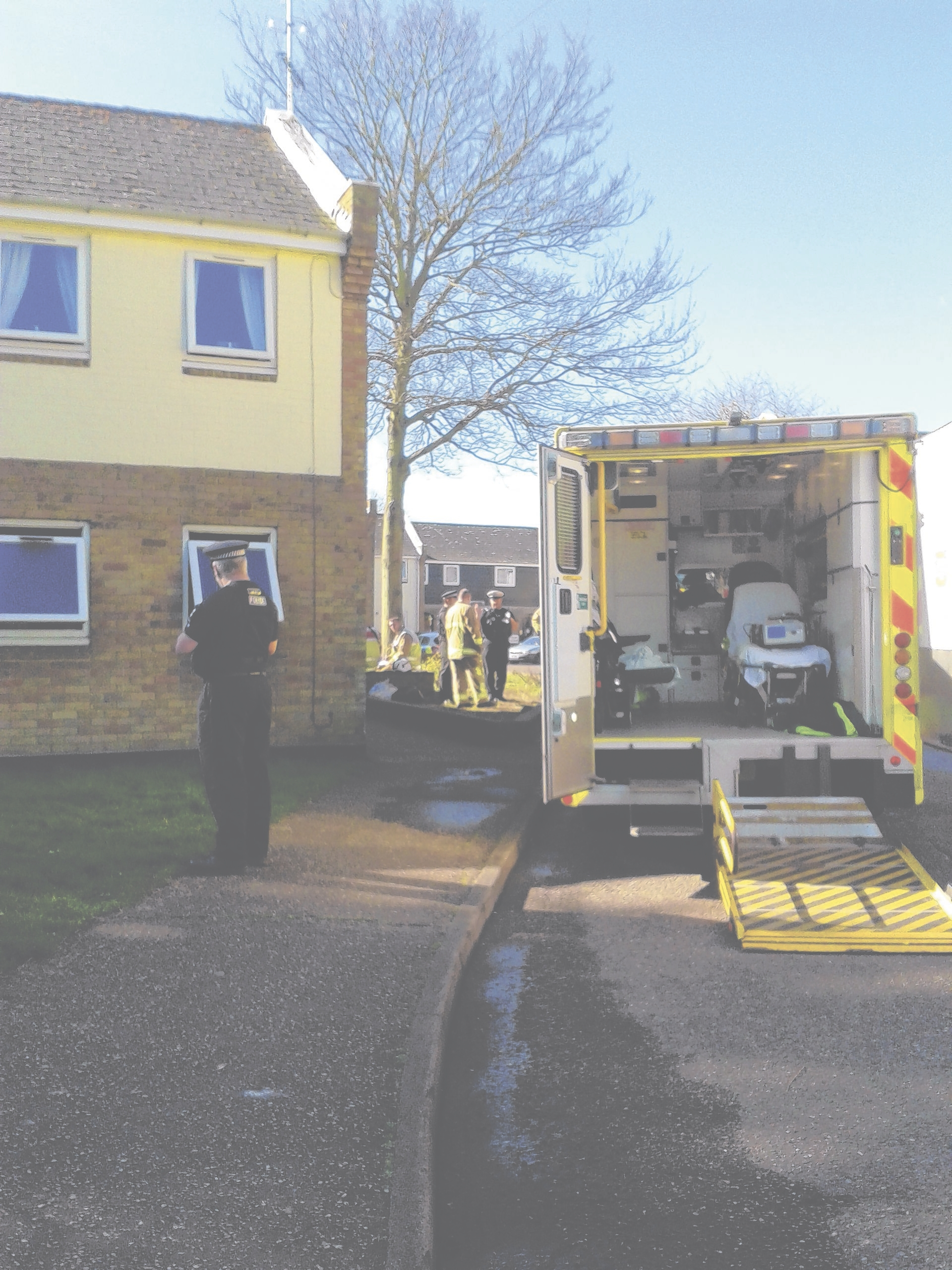 Woman in critical condition following blaze at Braintree flat