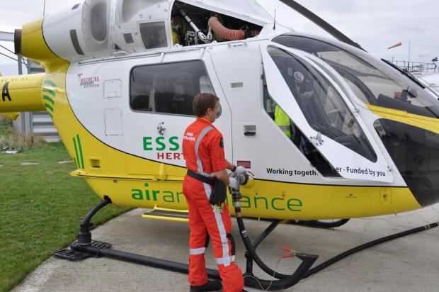 Air ambulance delighted with Budget win