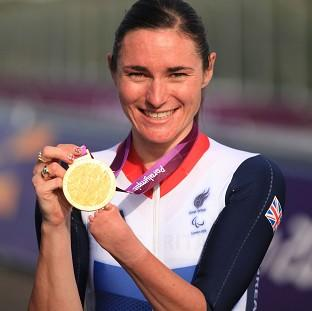 Halstead Gazette: Paralympic champion Dame Sarah Storey has been named Celebrity Mum of the Year