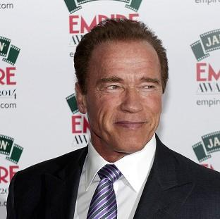 Arnold Schwarzenegger attending the Empire Magazine Film Awards held at the Grosvenor Hotel in London.