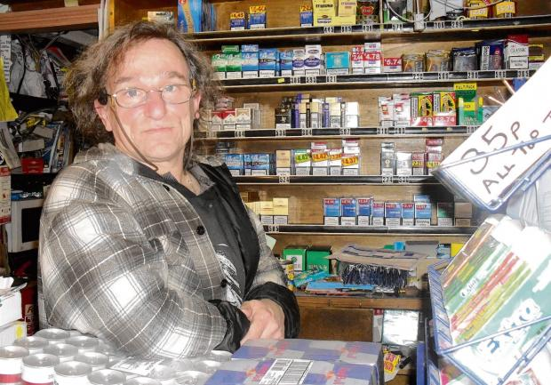 Cigarette policy hitting finances of small newsagents