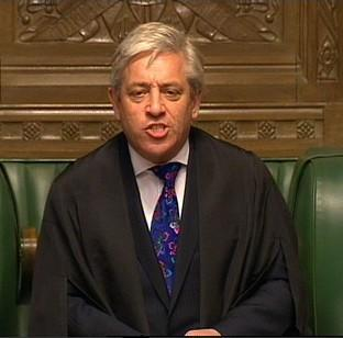 "Halstead Gazette: John Bercow says Parliament is ""spray painting its own shop window"""