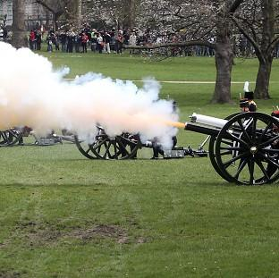 Halstead Gazette: Gun salutes will mark the Queen's birthday