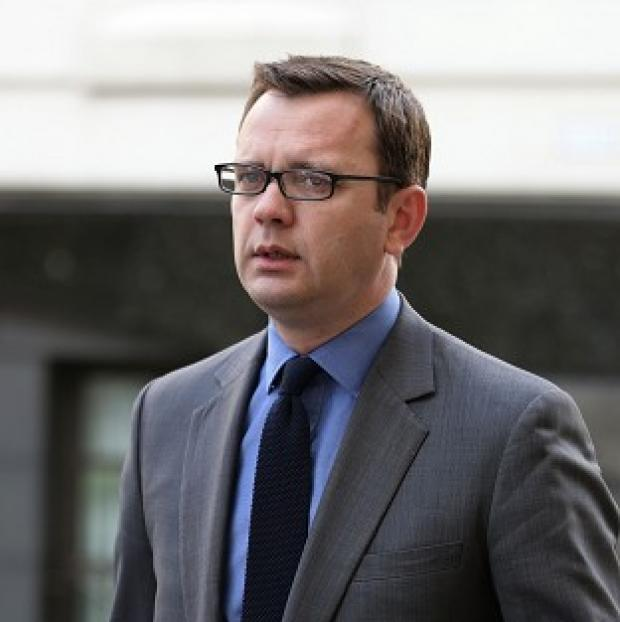 Halstead Gazette: Andy Coulson arrives at the Old Bailey.