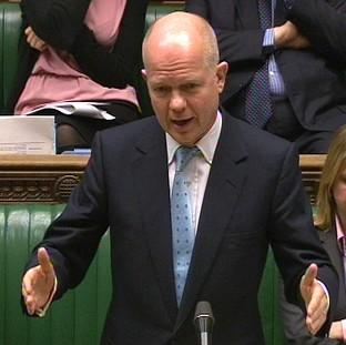 Halstead Gazette: Foreign Secretary William Hague said sanctions are having an impact on Russia