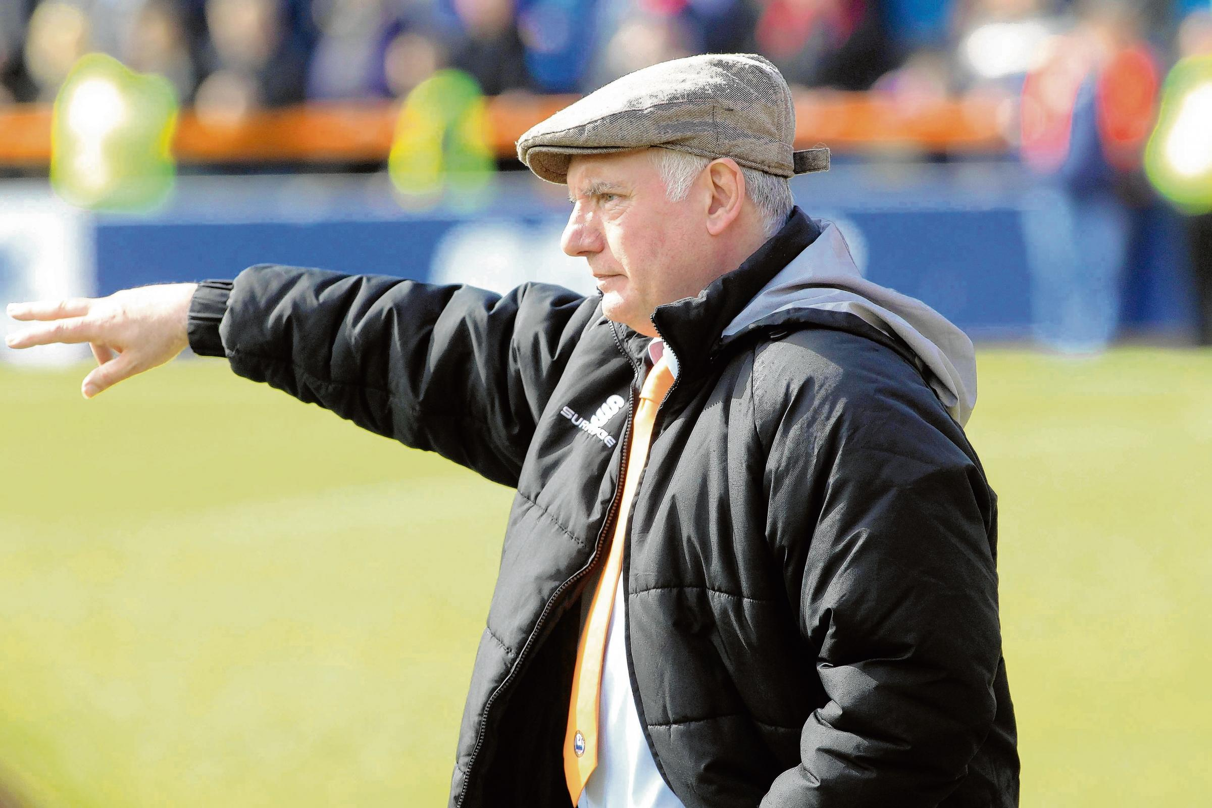 Braintree Town manager Alan Devonshire. Picture STEVE ARGENT