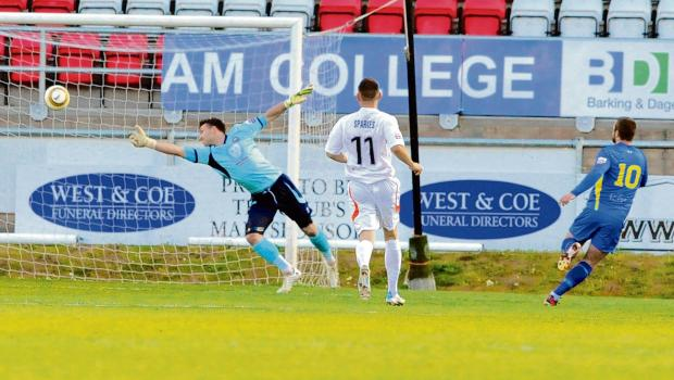 Iron fall flat as Rangers lift Essex Senior Cup