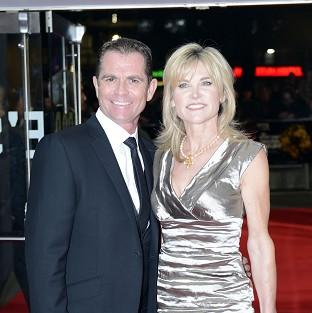Anthea Turner and Grant Bovey ended their 13-year-marriage last year