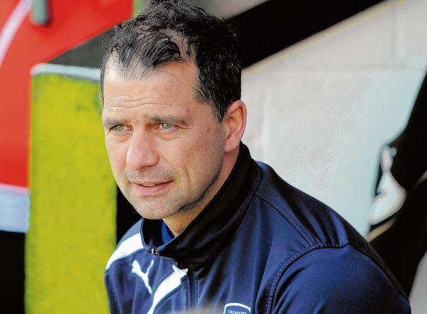 Mission accomplished - U's boss Joe Dunne believes his side have made progress in the 2013-14 season. Picture: WARREN PAGE