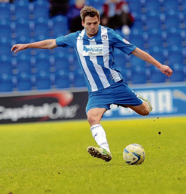 Halstead Gazette: Biding his time - Ryan Dickson is yet to sign a new contract offered to him by Colchester United.