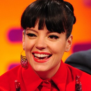Lily Allen went straight to the top of the album chart with her new release Sheezus