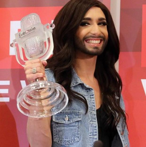 Halstead Gazette: The Austrian winner is a drag act whose real name is Tom Neuwirth (AP)