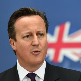 Halstead Gazette: David Cameron is meeting voters during a two-day visit to Scotland