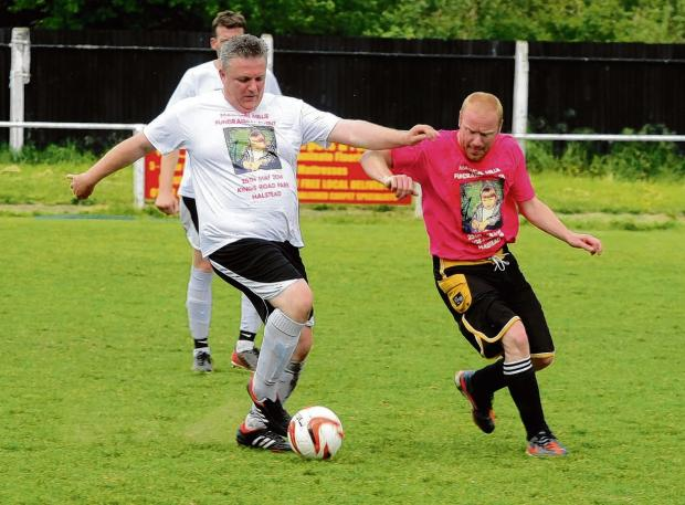 Charity football match raises more than £2k for Magical Millie fund