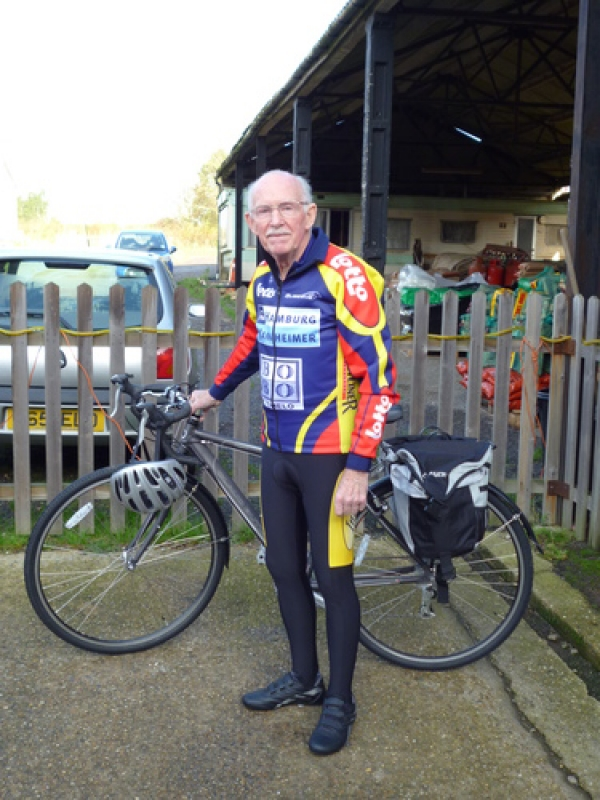 Join a charity cycle ride