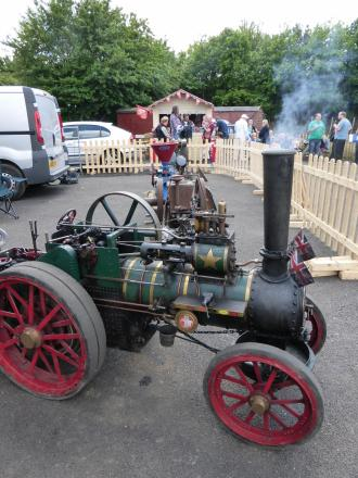 Busy weekend for Colne Valley railway