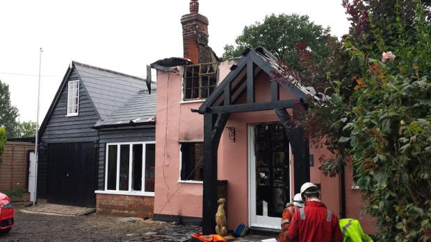 Fire-destroyed cottage to have new lease of life