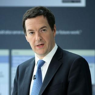 Halstead Gazette: George Osborne said the Government needs to be alert to the build-up of debt in the housing market
