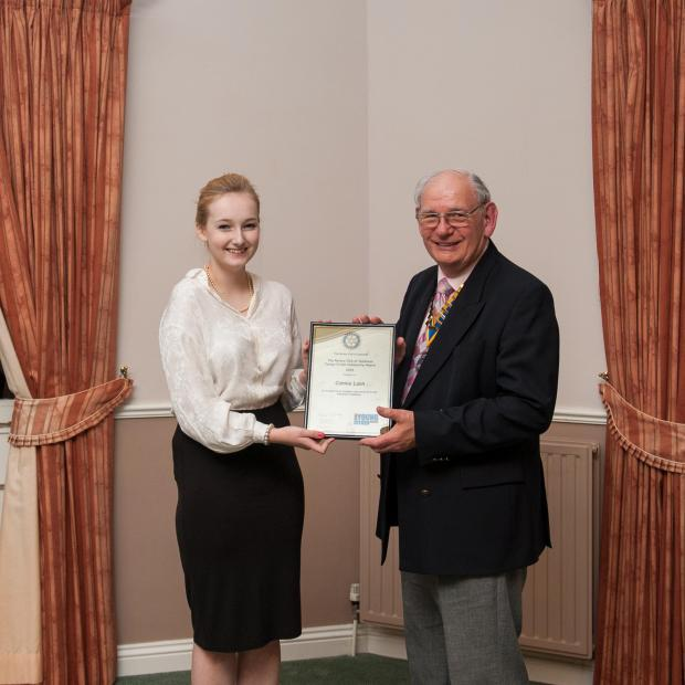 Halstead Gazette: Pupil wins Young Citizen Award