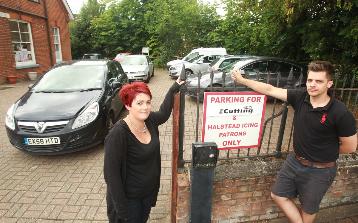 Frustrated shoppers ask people to stop parking inconsiderately