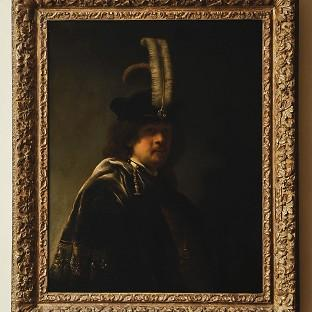 A self-portrait of Rembrandt discovered at