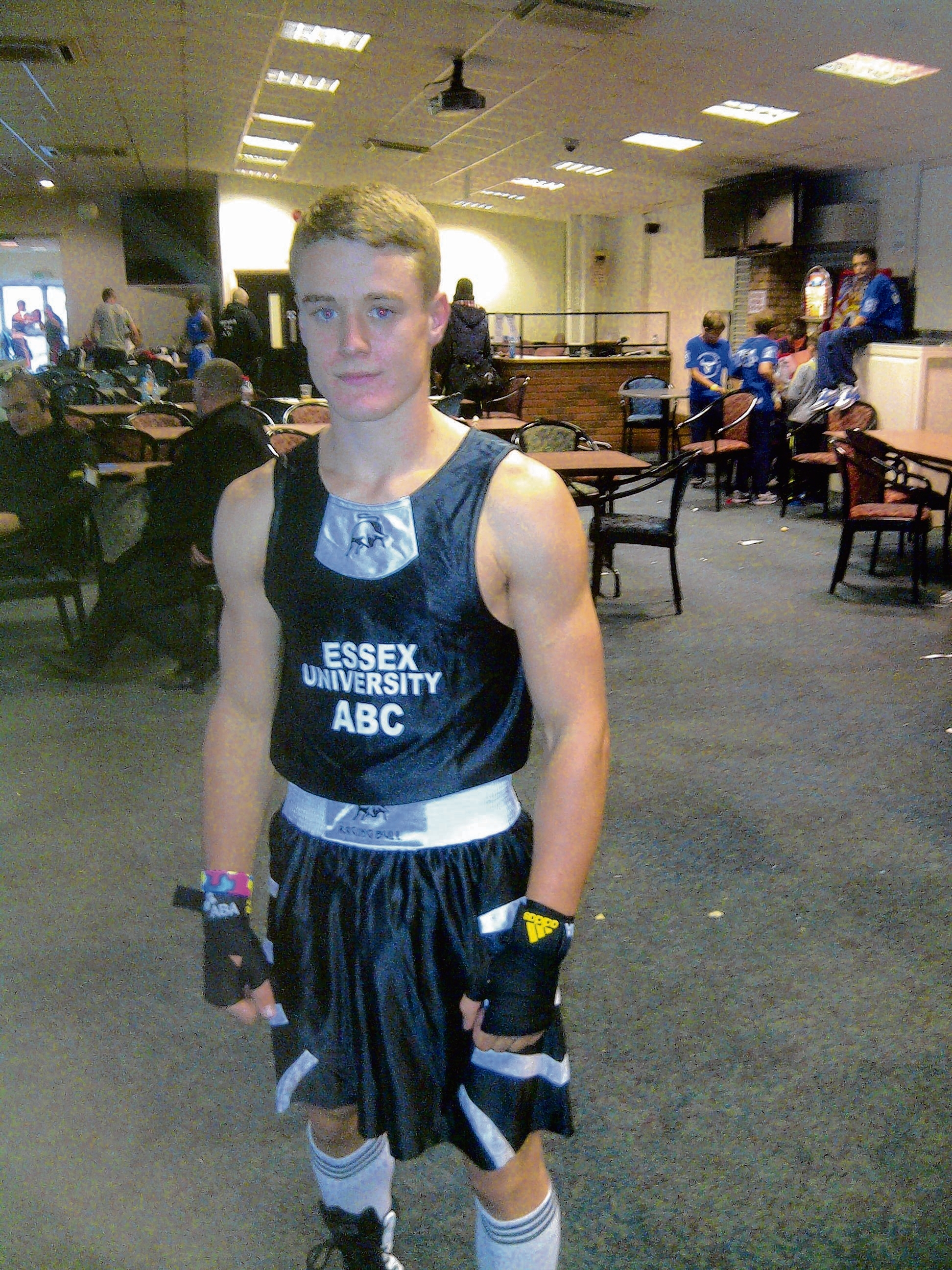 Defeat - Jason Veares lost out on a split verdict to Jonathan Francios, in Portsmouth.