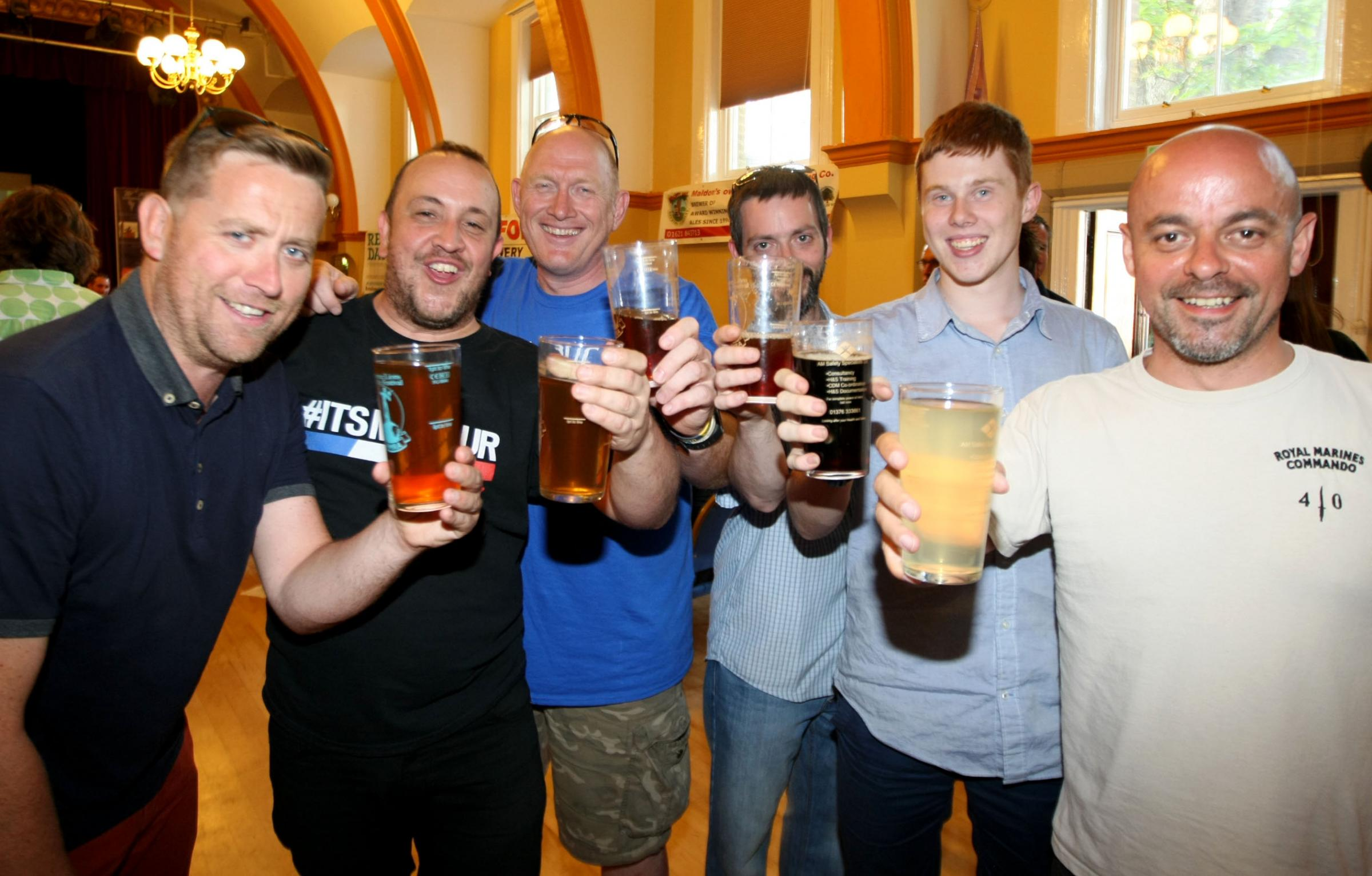 Ale festival is hailed a roaring success