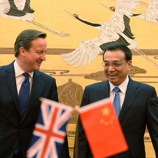 UK and China sign £14bn trade deals