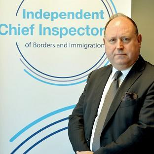 John Vine, the Chief Inspector of Borders and