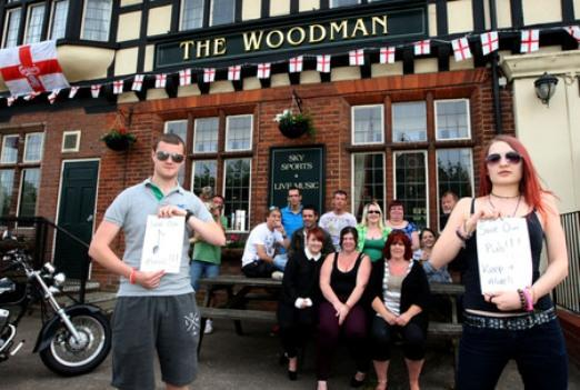 Campaigners tried to save The Woodman from being turned into a shop