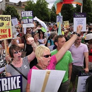 Halstead Gazette: Trade unions are balloting workers on strike action