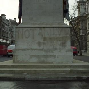 The Cenotaph in Whitehall