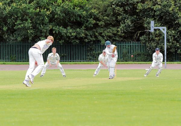 James Wilkins, seen batting for Benfleet, will be looking for Benfleet's second win when they play Oakfield Parkonians today