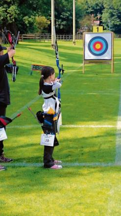 Imogen is on target with third Junior Master Bowman score