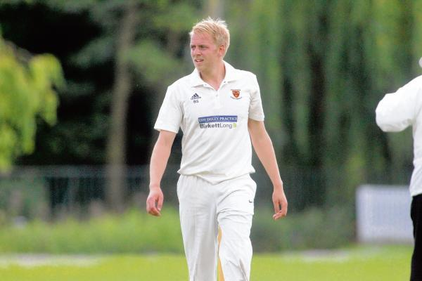 Main man - skipper Ben Stephens has led Colchester and East Essex to the top of Shepherd Neame Essex League division one.