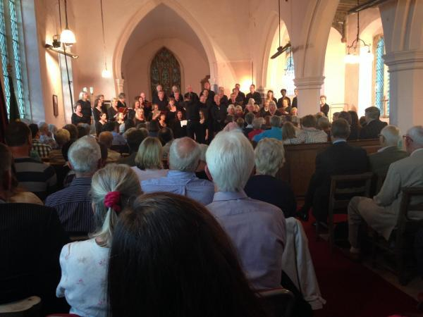 Concert raised money for